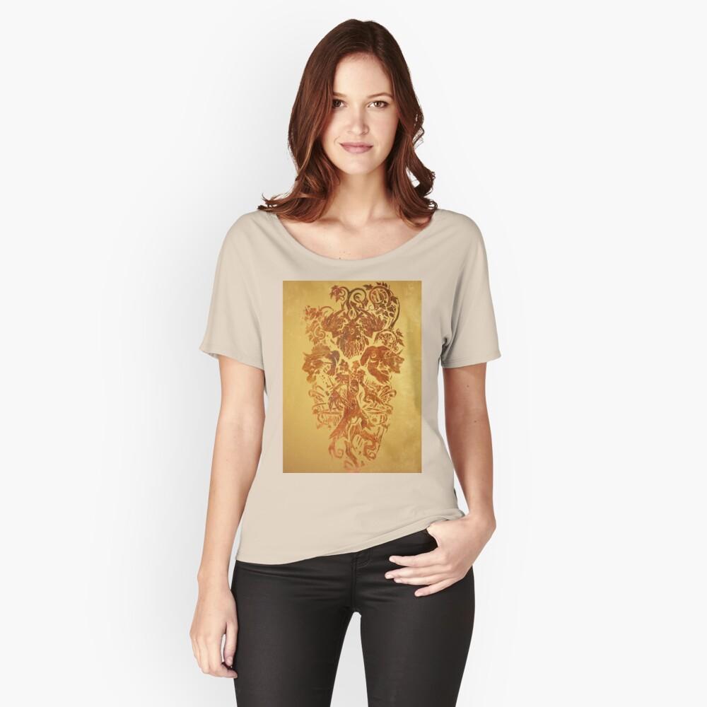Warcraft Druide Emblem Loose Fit T-Shirt