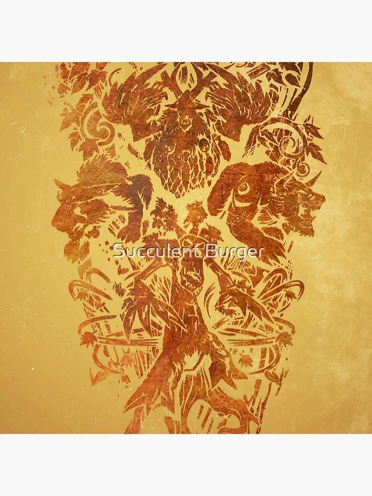 Warcraft Druide Emblem von TheHeathen