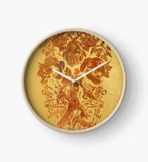 Warcraft Druid Emblem Clock
