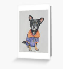 Team Dog Greeting Card
