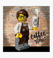 Lego's and Coffee Photographic Print
