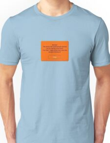 club penguin ban Unisex T-Shirt