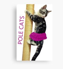 Pole Cats Canvas Print