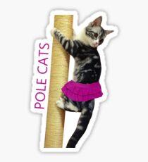 Pole Cats Sticker