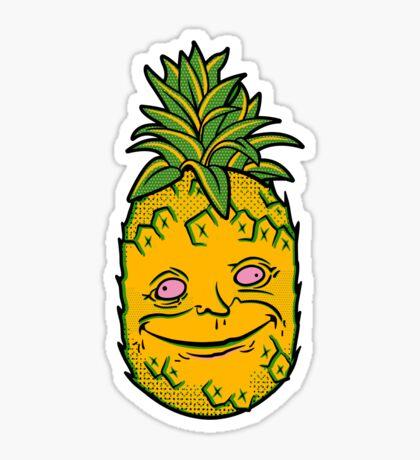Happy Pineapple Sticker