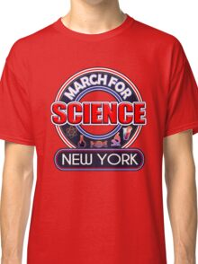Climate Change March for Science NEW YORK 2017 Classic T-Shirt