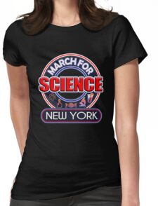 Climate Change March for Science NEW YORK 2017 Womens Fitted T-Shirt