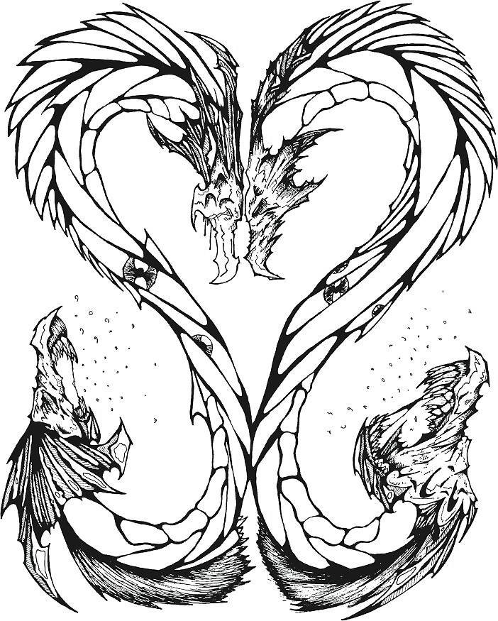 DRAGON HEART by Arquelio (Archie) Garcia