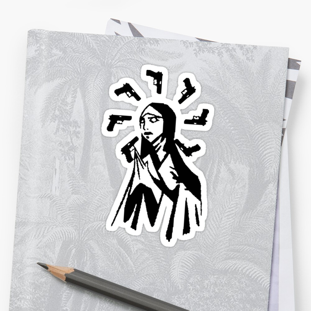 Our Lady of Sorrows (Black) by unorthodoxxx