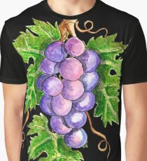 Cabernet Sauvignon Grape Leaves Graphic T-Shirt