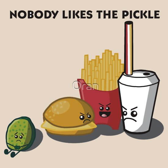 TShirtGifter presents: Nobody Likes the Pickle