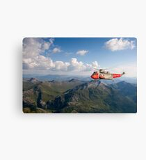 Royal Navy SAR Sea King Canvas Print