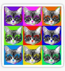 Babi Warhol Sticker