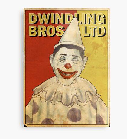 Klump the Clown! Metal Print