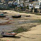 Mousehole harbour 2 by Steve plowman