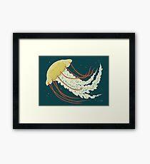 Nice Jellyfish Framed Print