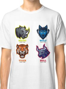 Animal Badges Sport Teams Classic T-Shirt