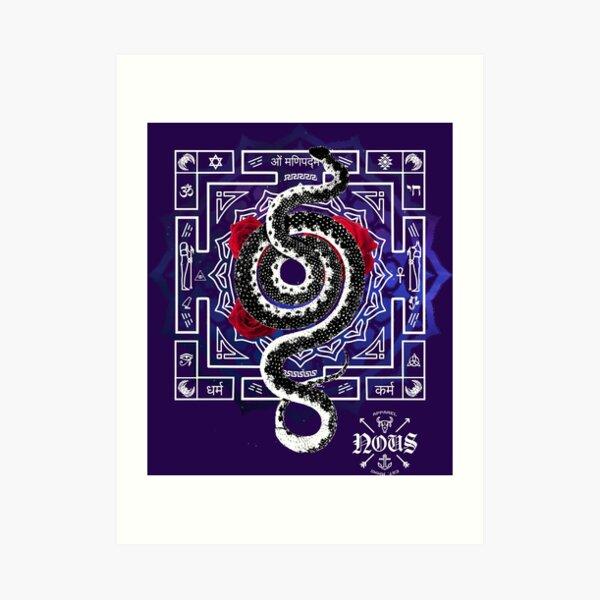 Snake Nous Art Print