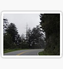 Winding Tennessee Road Sticker