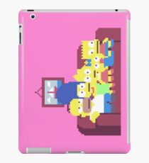 The Simpsons 8-Bit Pixels Design iPad Case/Skin