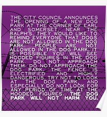 The Dog Park Poster