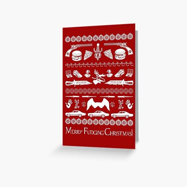 A Very Supernatural Christmas Greeting Card