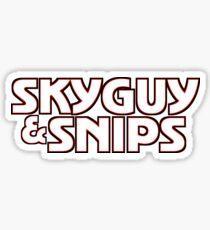 Skyguy & Snips - Starsky & Hutch parody Sticker