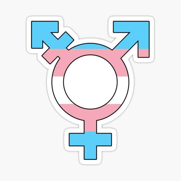 Transgender Pride Sticker