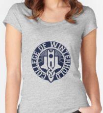 College of Winterhold Logo Design Women's Fitted Scoop T-Shirt