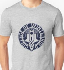 College of Winterhold Logo Design Unisex T-Shirt