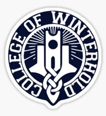 College of Winterhold Logo Design Sticker