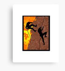 Rocky Climb Canvas Print