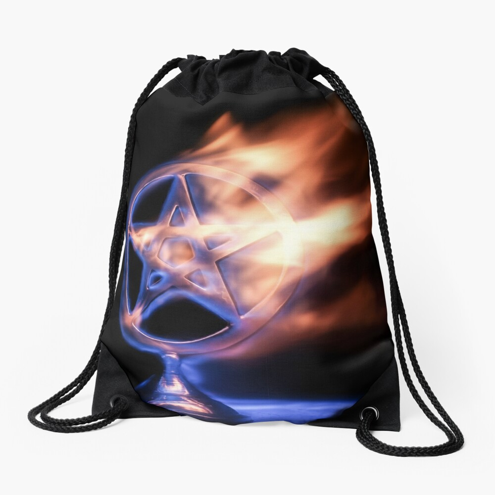 The Impact Of The Inquisition Drawstring Bag