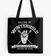 College of Winterhold Logo Design Tote Bag