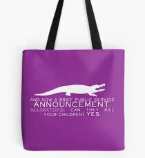 Alligator PSA Tote Bag
