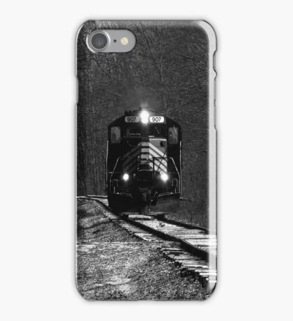 I hear the train a comin', It's rolling round the bend iPhone Case/Skin