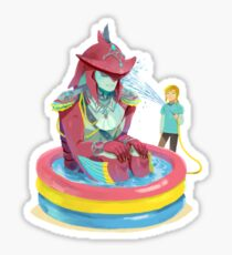 Prince Sidon Kiddie Pool Sticker
