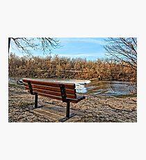 Dam Seat Photographic Print