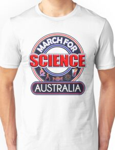 Climate Change March for Science AUSTRALIA 2017 Unisex T-Shirt