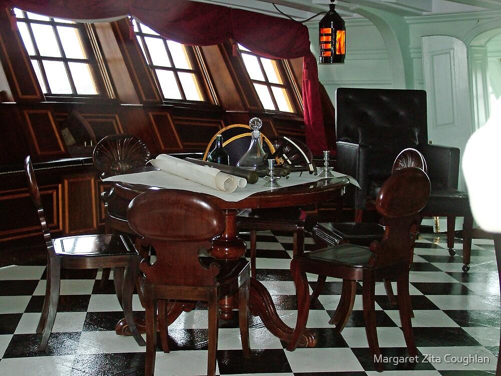 Admiral Nelson's Cabin by Margaret Zita Coughlan