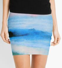 Tranquil Sea Mini Skirt