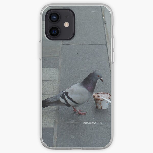 Feed the Birds (detail) iPhone Soft Case
