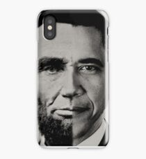 President Obama Meets President Lincoln iPhone Case/Skin