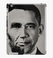President Obama Meets President Lincoln iPad Case/Skin