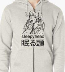 impression de sleepyhead Veste zippée à capuche