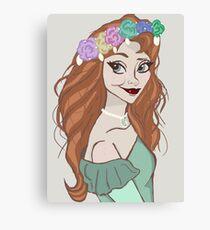 Pretty Princess Canvas Print