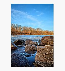 Boulders Along The Shell Rock 4 Photographic Print