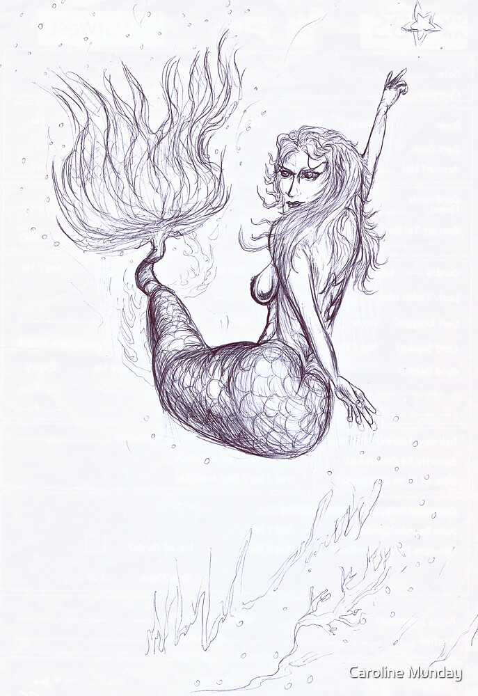 Mermaid by Caroline Munday