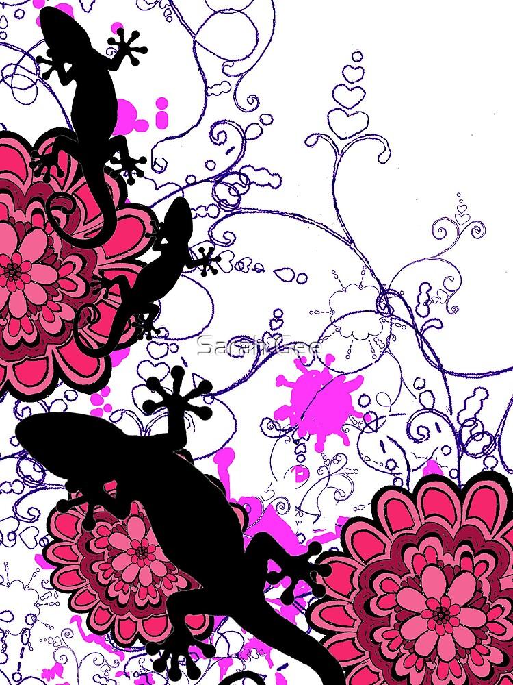 I love geckos............... by Sarah Gee