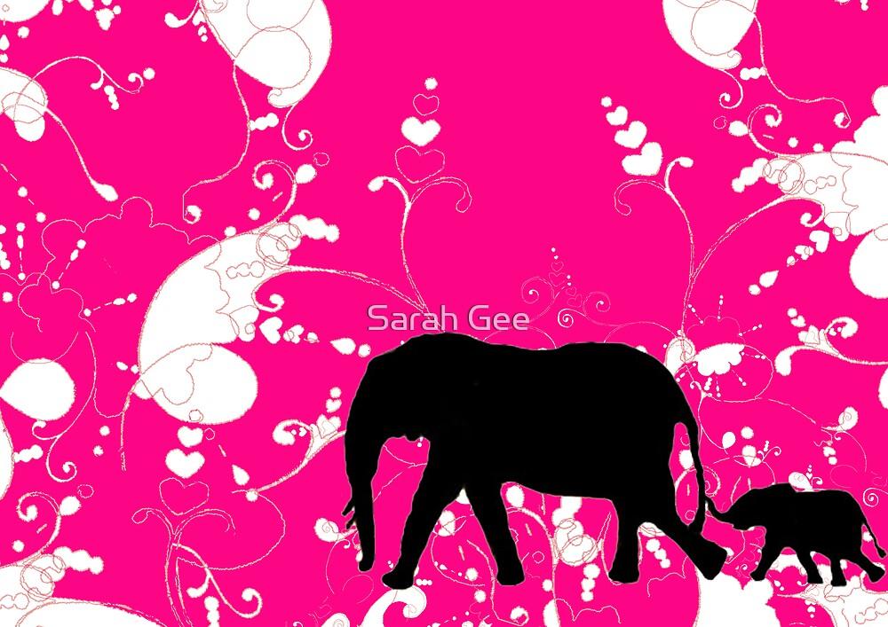 Pink paradise by Sarah Gee